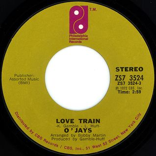 The O'Jays - Love Train (Pied Piper Extended & Redrummed Mix)