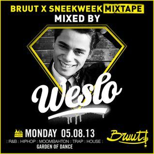 Bruut ✕ Sneekweek Mixtape by Weslo & MC Marboo