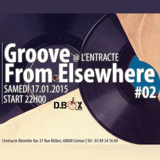 KmZ// Dj Set @ GROOVE FROM ELSEWHERE #2 :: L'Entracte Absynth Bar // 17.01.2015