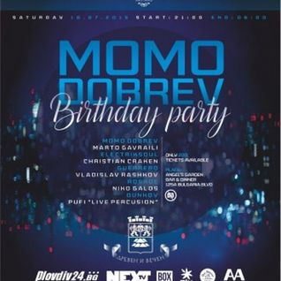 Live @ Momo Dobrev's Birthday Party 2015