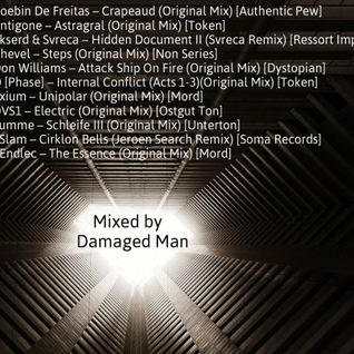 Damaged Man Techno Podcast June 2015