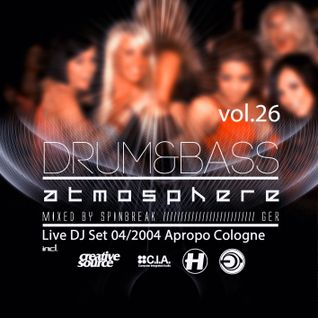 Atmosphere vol.26 (mixed by Spinbreak)