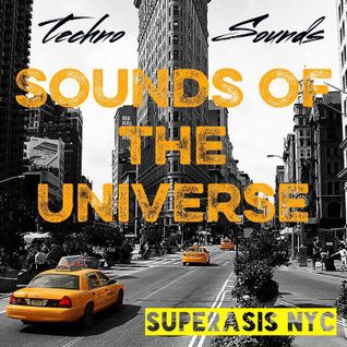 187.-Sounds of the Universe RadioShow by Superasis@Live from Flatiron District, NYC#April 7th 2016
