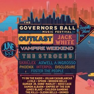 Disclosure - The Governors Ball Music Festival (New York) - 07.06.2014