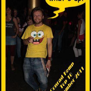 "Conrad Kemp ""Whats Up"" Top 10 November 2011 for www.szokujacy.pl"