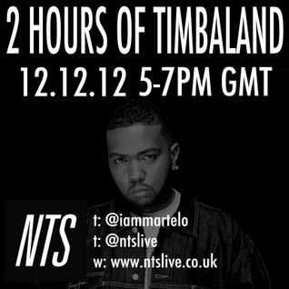 NTS - 12/12/12 (TIMBALAND SPECIAL)