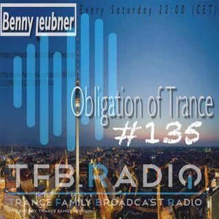 Podcast - Obligation of Trance #135