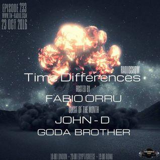 Fabio Orru  -  Time Difference 233 on TM-Radio (23 October 2016)