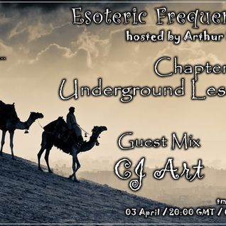 CJ Art - Esoteric Frequencies 008 guest mix [03.04.2012] @ tm-radio com