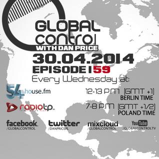 Dan Price - Global Control Episode 159 (30.04.14)