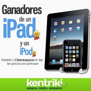 Kentriki regaló un iPad!!!
