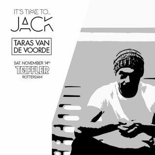 Taras van de Voorde @ JACK, Toffler, Rotterdam (14-11-2015)