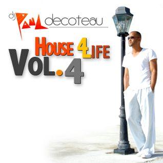 DJ Paul DeCoteau - House 4 Life Vol.4