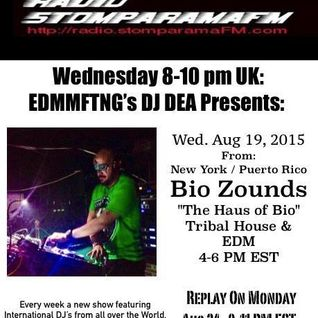Bi☣ Z☢unds - StomparamaFM Radio UK Podcast 8-20-15