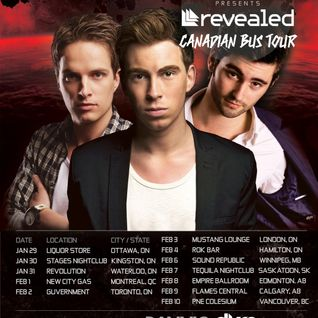 Earmilk Presents - Competition Opening Set for Hardwell's Canadian Tour