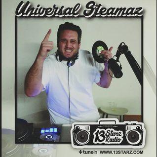 Universal Steamaz Live Reggae & New Roots Vinyl Mix on #13StarzRadio