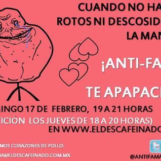 Antifama Forever Alone 17-02-13