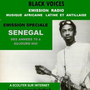 EMISSION spéciale SENEGAL années 70  à Aujourd'hui   Black Voices  RADIO DECIBEL dans le LOT 01/2016