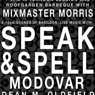 Mixmaster Morris @ BAS Festival Basildon, May 2013 pt.1