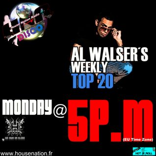 Al Walser's Weekly Top20 - On Tour - Europe June 9th
