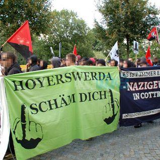 Vor 20 Jahren - rassistisches Pogrom in Hoyerswerda (08.08.2012)