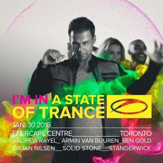 Armin van Buuren Warmup - Live @ A State Of Trance 750 Celebration (Toronto, Canada) - 30.01.2016