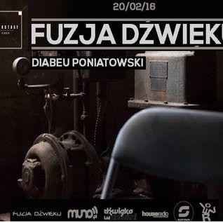 Diabeu Poniatowski - Club Live Set @ FUZJA DZWIEKU 4 - Backstage Studio 20022016