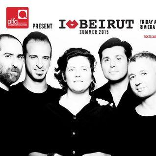 maDJam Live@I Love Beirut- Riviera August 7, 2015