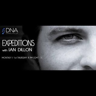 Ian Dillon - Expeditions July 2015 aired on DNA radio
