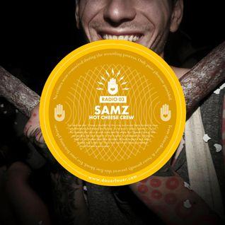 Dauerfeuer Radio 03 - Samz (Hot Cheese Crew)