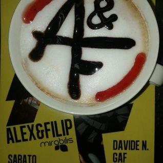 ALEX & FILIP Live @ Purosangue 21.1.2012 [Discoteca RiLago, Italy]