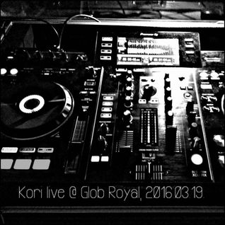 Kori live @ Glob Royal, 2016.03.19. (RETRO PARTY)