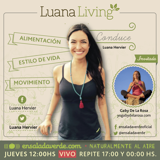 Tema> Como nos afecta la luna por #LuanaLiving Radio Show por Ensalada Verde
