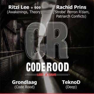 TeknoD @ Code Rood - Leef je Rave 11-05-2013