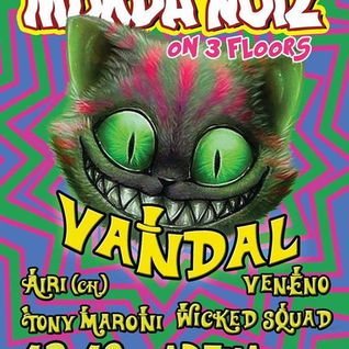 Dj VeNeNo @ Murder Noiz 13.12.14 (Vandal)