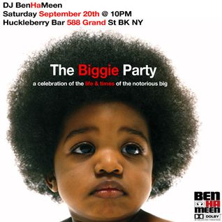 DJ BenHaMeen - The Biggie Party Mix (Remixes Of The Notorious BIG Ready To Die 20th Anniversary)