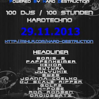 Dj Krank - Hard Destruction Birthday Bash 29-11-2013