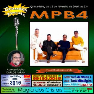 Programa Grandes Vocais 18/02/2016 - Especial MPB4