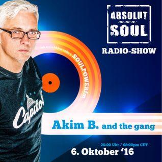 Absolut Soul Show /// 6.10.16 on SOULPOWERfm