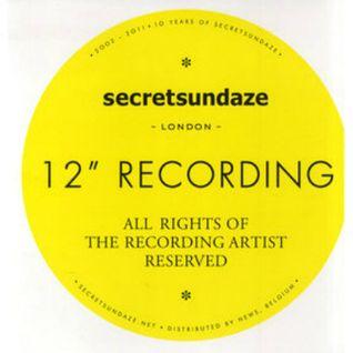 28/05/12: secretsundaze with Ethyl, John Daly and Nyra