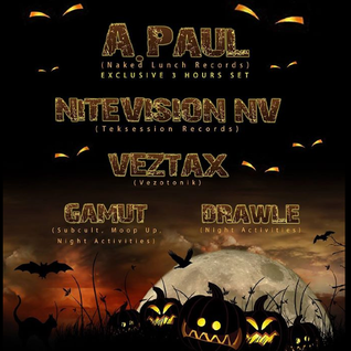 A.Paul @ Remember The Future - Halloween - F Club - Ljubjana - SLO
