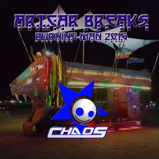 Artcar Breaks by CHAOS at Burning man 2016