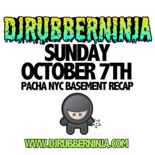 Pacha NYC Basement Recap - October 7th 2012