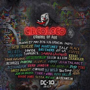 Agoria @ Circoloco Opening Party,DC-10, Ibiza 23-05-2016