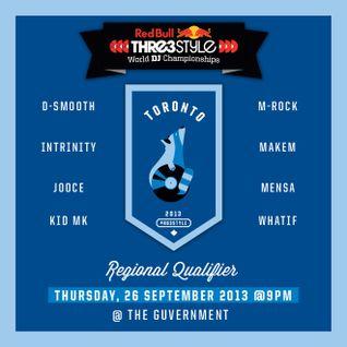 DJ D-Smooth - Canada - Toronto Qualifier