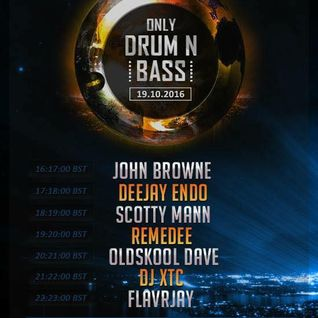 FLavRjay on OOS Radio, Only Drum n Bass 19-Oct-16