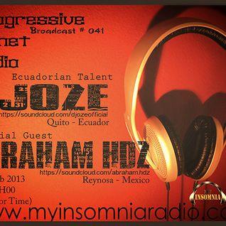 Abraham Hdz - Special Mix to My Insomnia Radio - PPR #041 Feb 2013