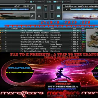 Fab vd M Presents A Trip To The Trance World Episode 14 Season 10 Remixed