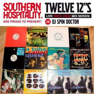 Twelve 12's Live Vinyl Mix: 08 - A Tribe Called Quest special! - DJ Spin Doctor