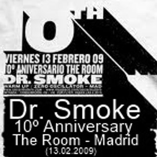 Dr.Smoke a.k.a Oscar Mulero - Live @ 10º Aniversario The Room, Madrid - Spain (13.06.2009)